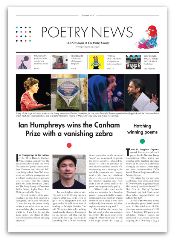 Poetry News summer 2016 w shadowesign