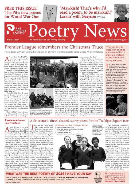 Poetry News - Winter 14