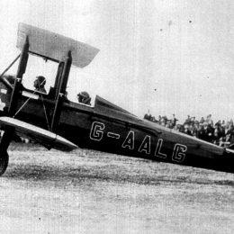 Gipsy Moth plane