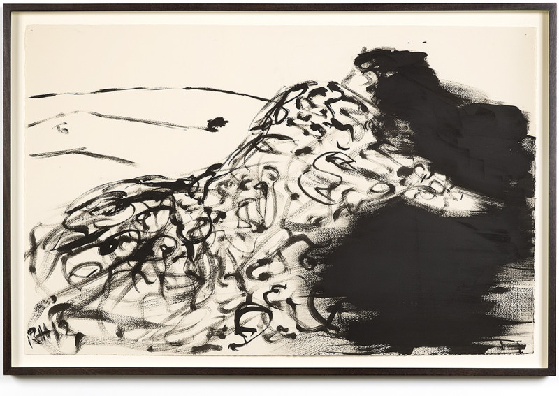 drawing for women in love 2013 by Rachel Howard. Oil on paper, 495 x 762 mm. Courtesy Blain|Southern, London. © The artist.