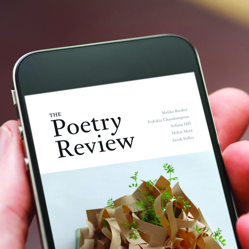 The Poetry Review digital version