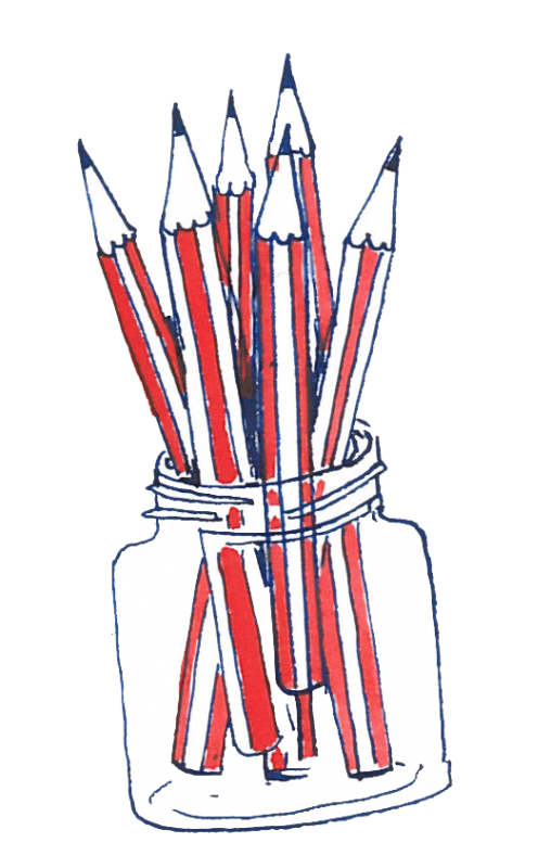 Jar of Pencils by Isabel Rock