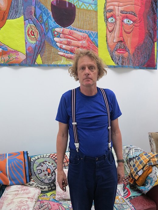 Grayson Perry in his studio. © The Poetry Society