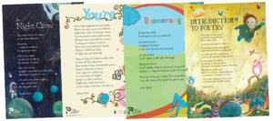Poetry Posters - Primary School set. Published by The Poetry Society.