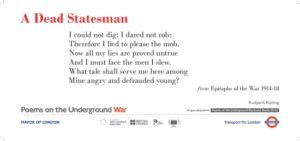 A Dead Statesman Kipling
