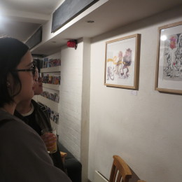 Isabel Rock's Goblin Market exhibition opening