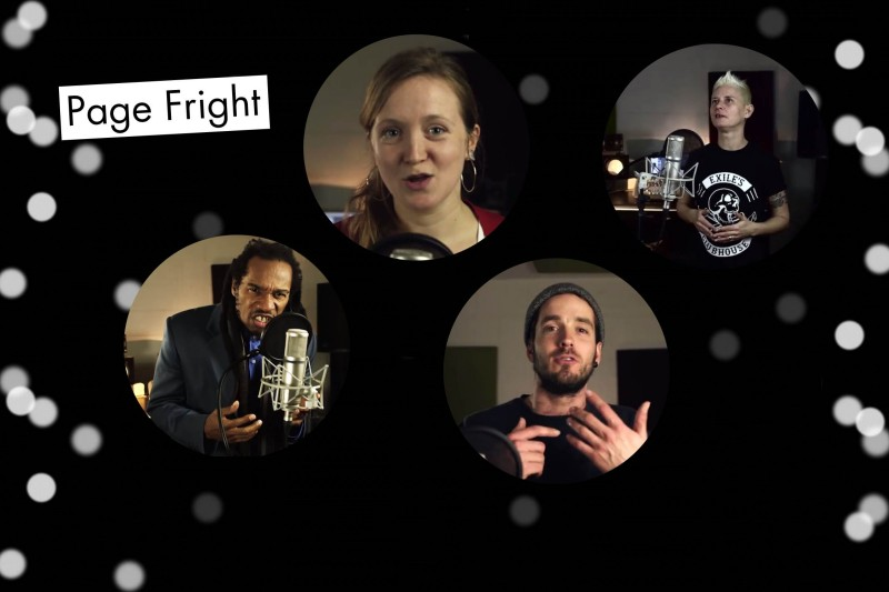 Page Fright promo2