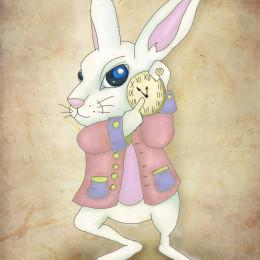 White Rabbit Alice