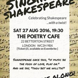 Singing Shakespeare