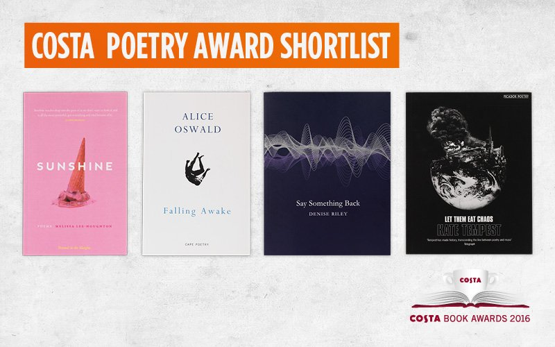 Costa Poetry Shortlist