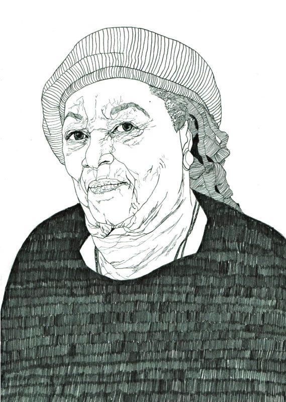 Toni Morrison by Thom Kofoed