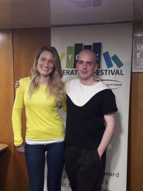 Hannah Copley with Andrew McMillan
