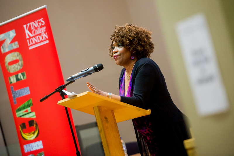 Rita Dove gives The Poetry Society Annual Lecture 2015
