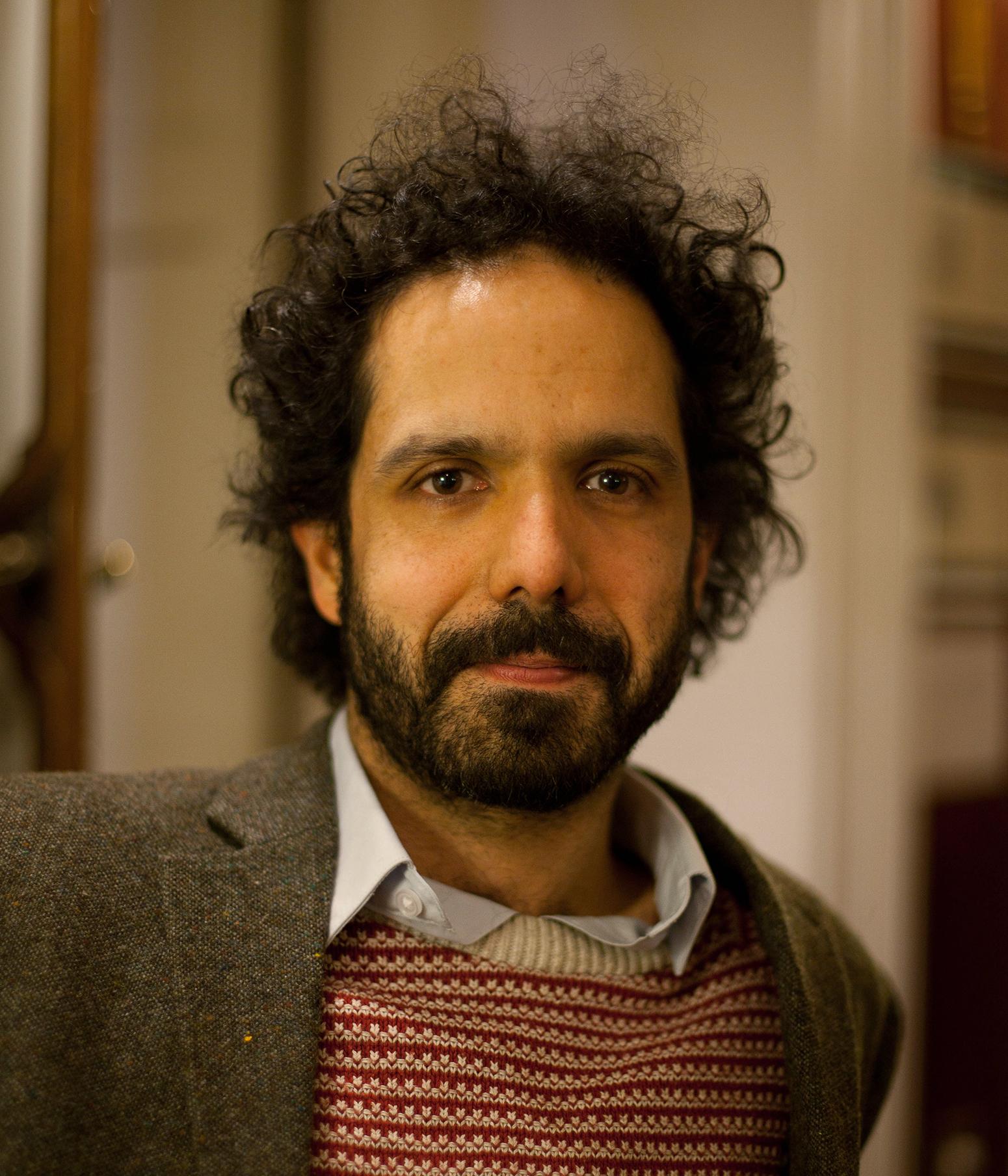Zaffar Kunial. Photo: Kevin Lake for The Poetry Society