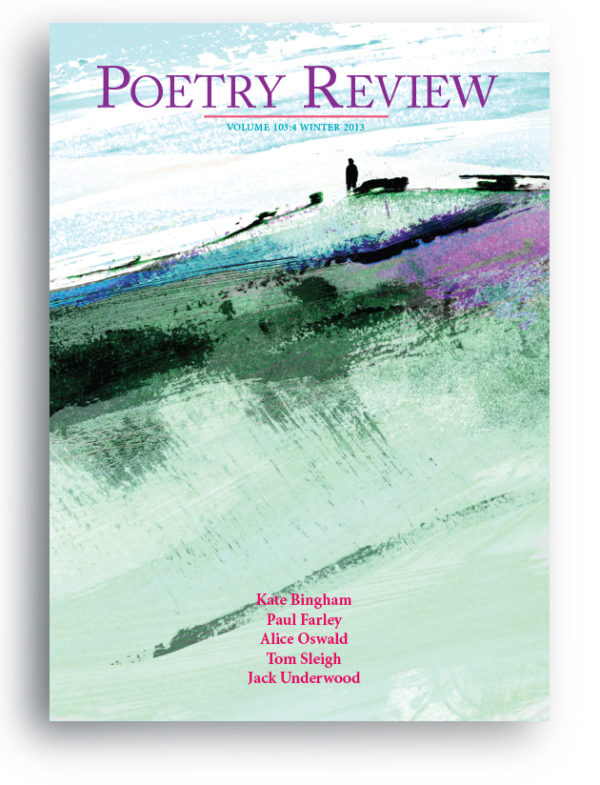 Poetry Review cover