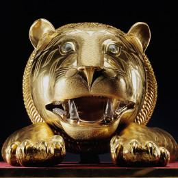 Tipu Sultan's Tiger's head