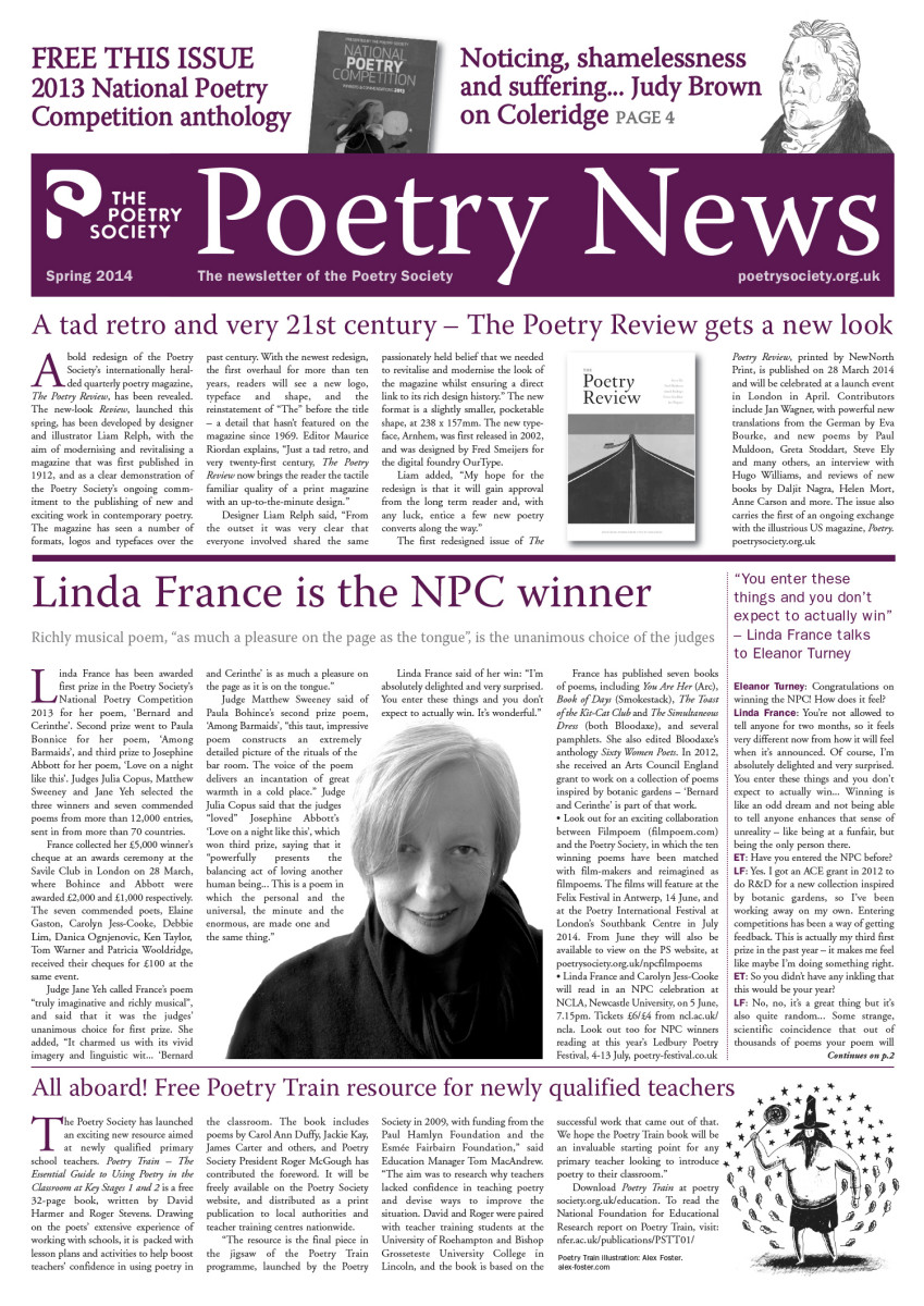 Poetry News Spring 14