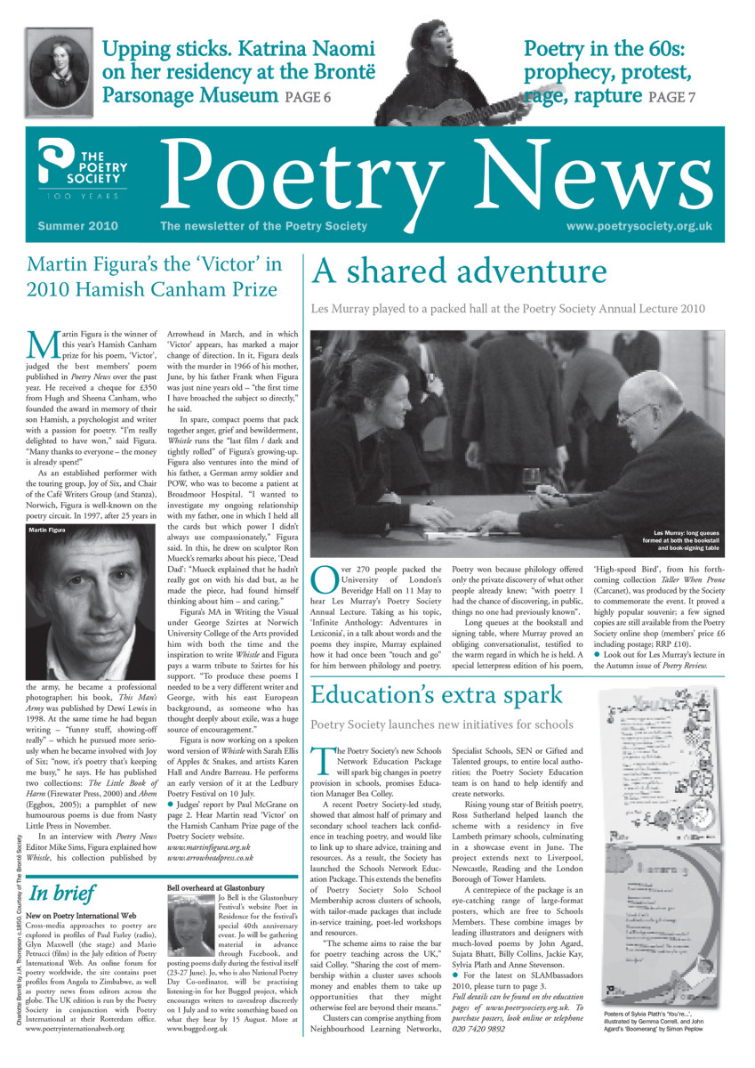 Poetry News - Summer 10