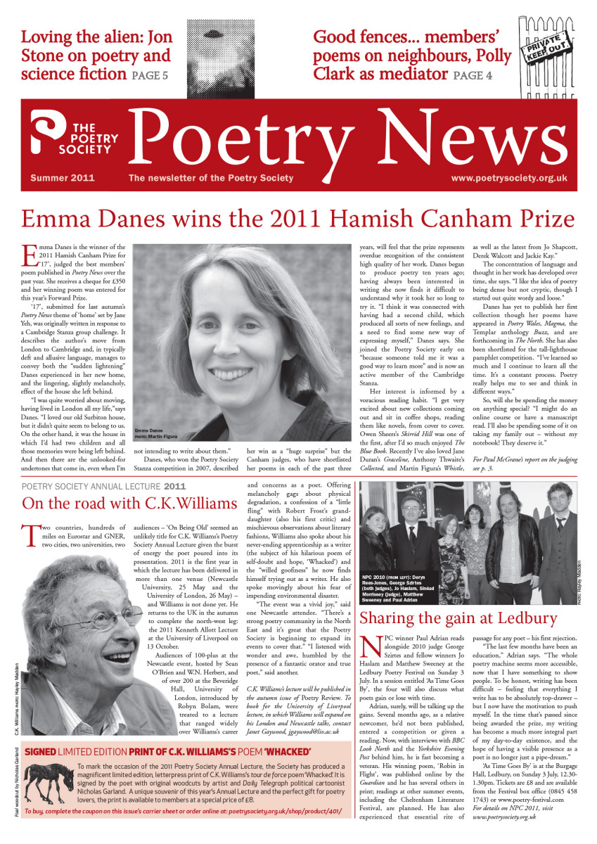 Poetry News Summer 11