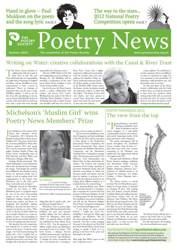 Poetry News Summer 12