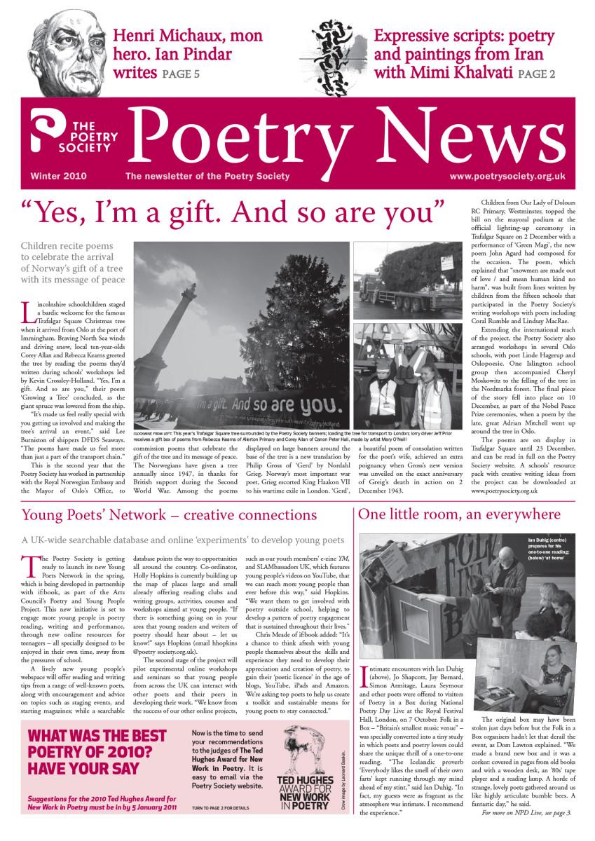 Poetry News - Winter 10