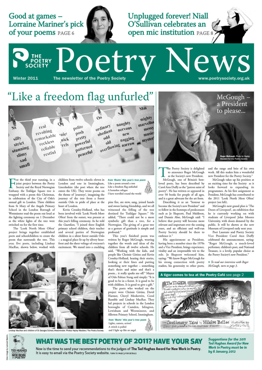 Poetry News Winter 11
