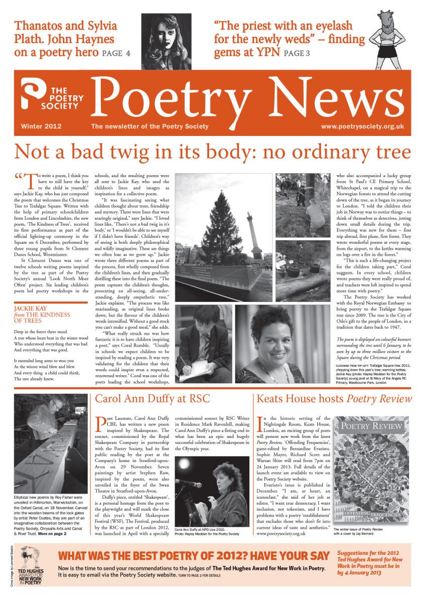 Poetry News Winter 12