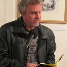Graham High reads at the Haibun Evening, The Poetry Café, 23 March 2015.