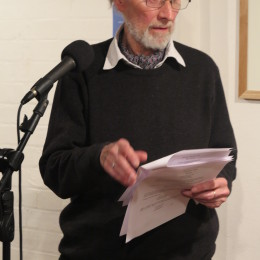 Ken Jones reads at the Haibun Evening, The Poetry Café, 23 March 2015.