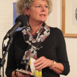 Lynne Rees reads at the Haibun Evening, The Poetry Café, 23 March 2015.