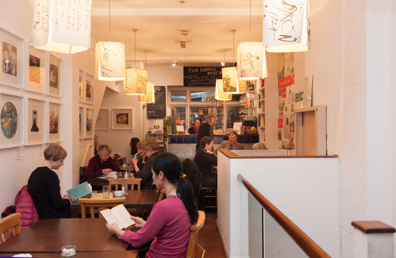 Poetry Café London's most relaxing cafes