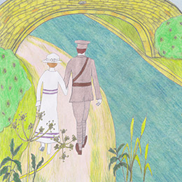 Screenshot from 'The Wind on the Downs'