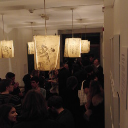 Private View event for the Middlesex University exhibition