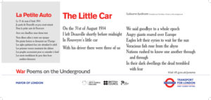 89 - Guillaume Apollinaire The Little Car