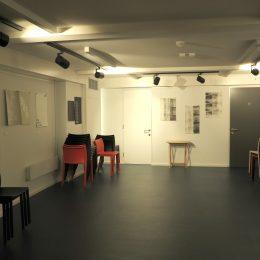Poetry Cafe basement from the door