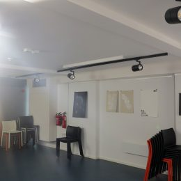 Poetry Cafe basement back well