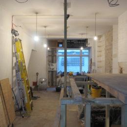 The Poetry Café in progress in January 2017