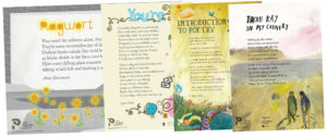 Poetry Posters - Secondary School set. Published by The Poetry Society.