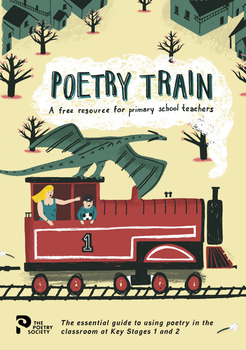 Cover of Poetry Train