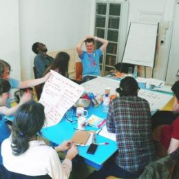 Workshop in the Studio