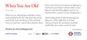 When you are old by WB Yeats