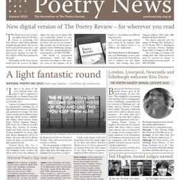 Poetry News Autumn 2015.