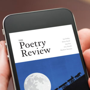 The Poetry Review digital institutional subscription.