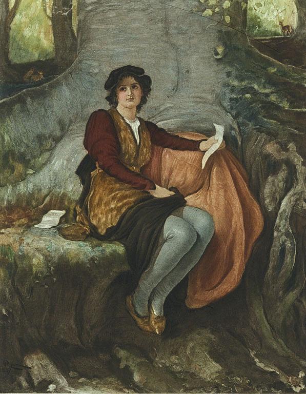 Rosalind from As You Like It by Robert Walker Macbeth.