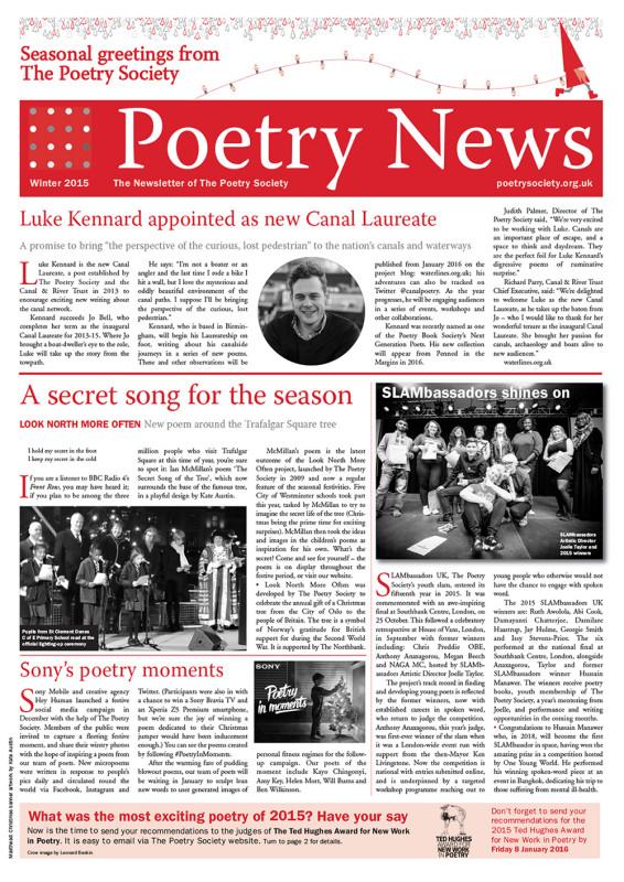 Poetry News winter 2015