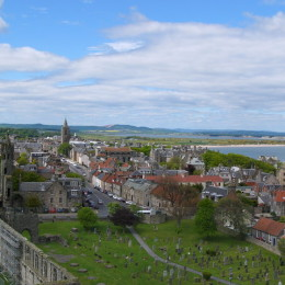 The city of St Andrews