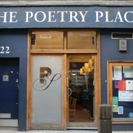 The Poetry Cafe outside view