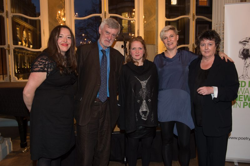 Ted Hughes Award 2016 judges and winner