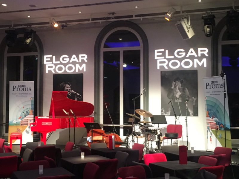 Elgar Room at the Royal Albert Hall