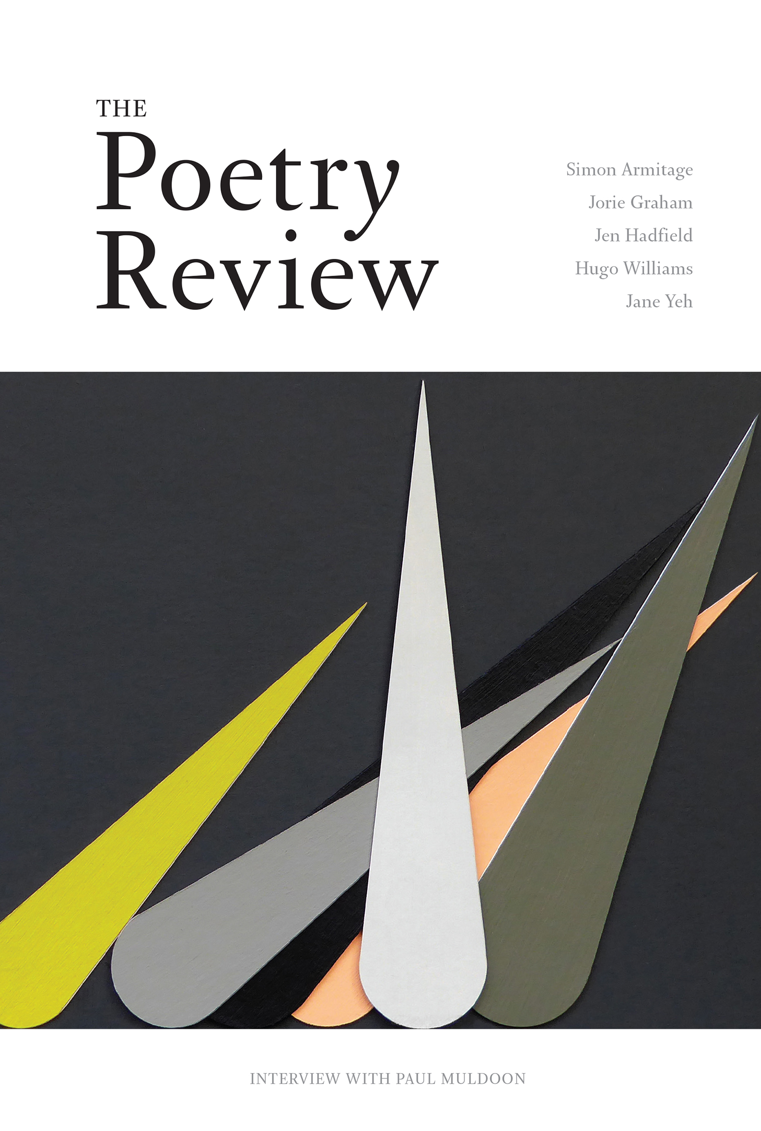 The Poetry Review winter 2016/17 issue
